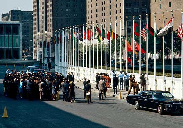 Bahraini flag raised at the UN Headquarters