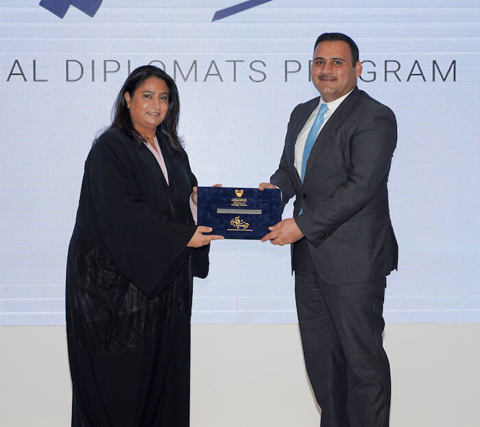 IDP - Diplomat from Jordan